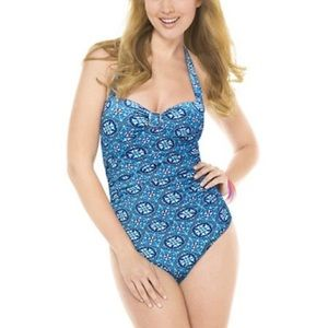 Spanx Love Your Assets One Piece Swimsuit Small